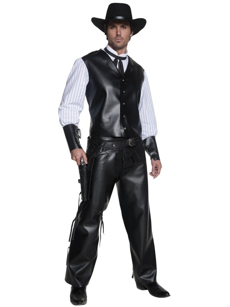 Smiffys Authentic Western Gunslinger Costume - 36159