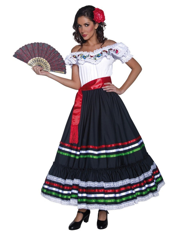 Authentic Western Sexy Senorita Costume