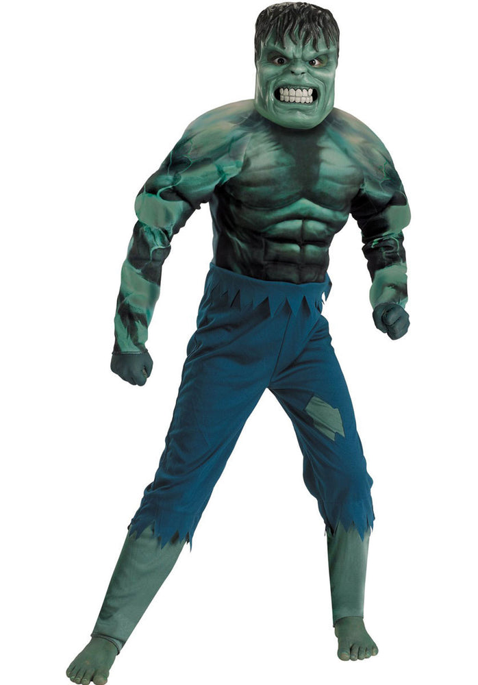 The Incredible Hulk Costume Kids