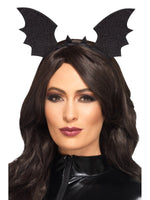 Bat Wings Headband, Black