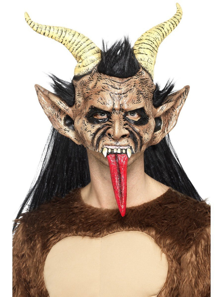 Smiffys Beast Krampus Demon Mask - 47074