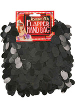 Black Flapper Sequin Bag