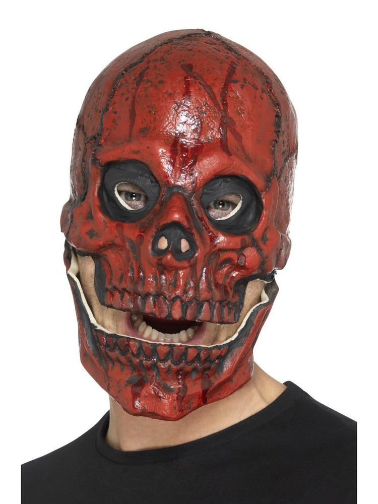 Smiffys Blood Skull Mask, Foam Latex - 48113
