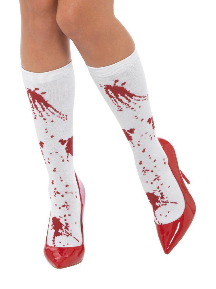 Smiffys Blood Splatter Socks - 44773