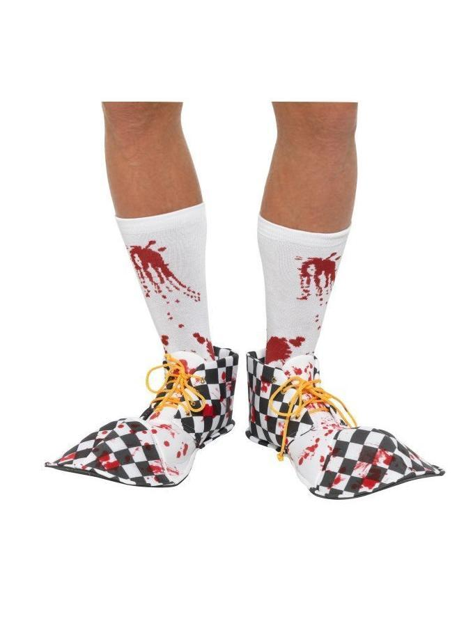 Bloody Clown Shoe Covers