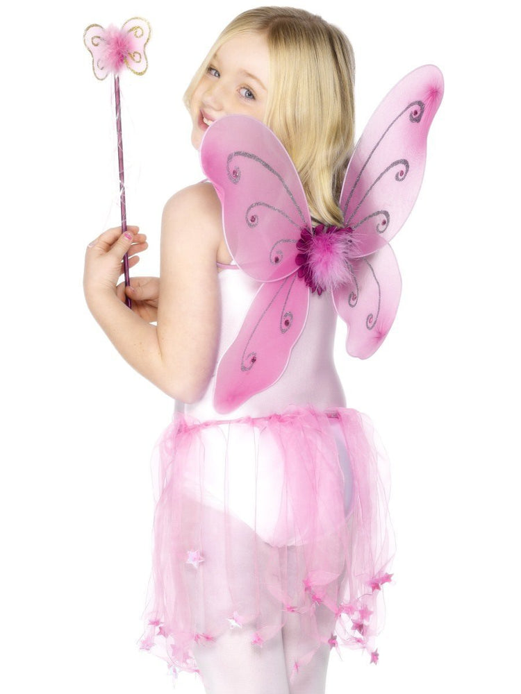Pink Child Butterfly Wings