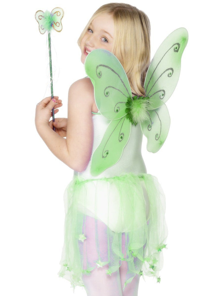 Green Child Butterfly Wings