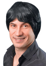 Beatle Style Wig Black