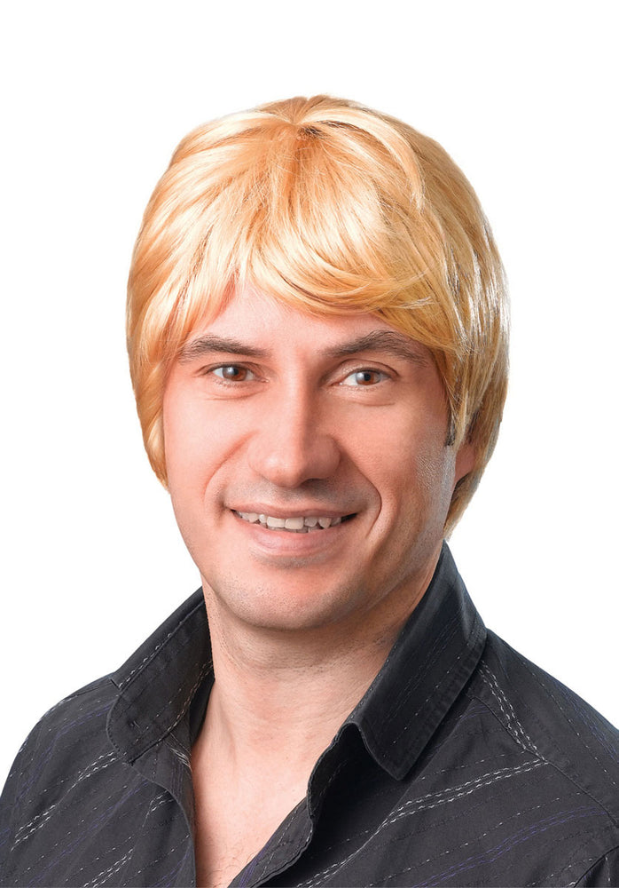 Beatle Style Wig Blonde