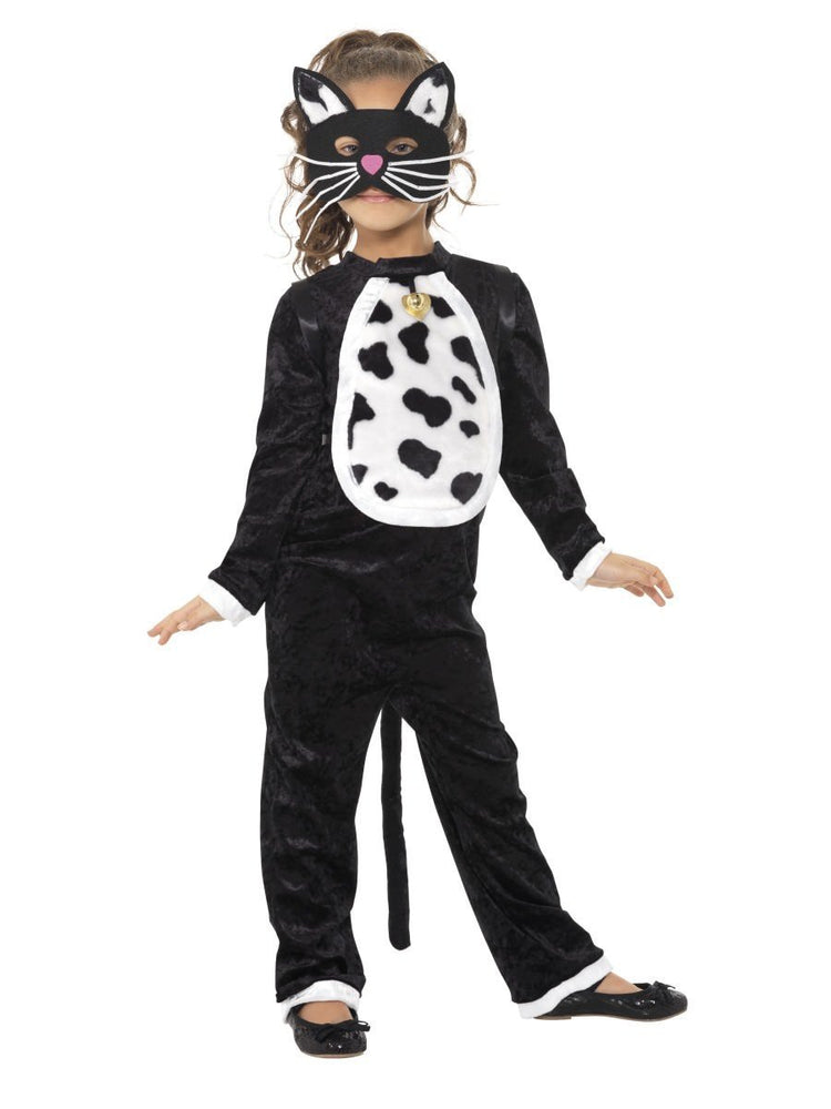 Smiffys Cat Costume, Black with Bodysuit - 35998