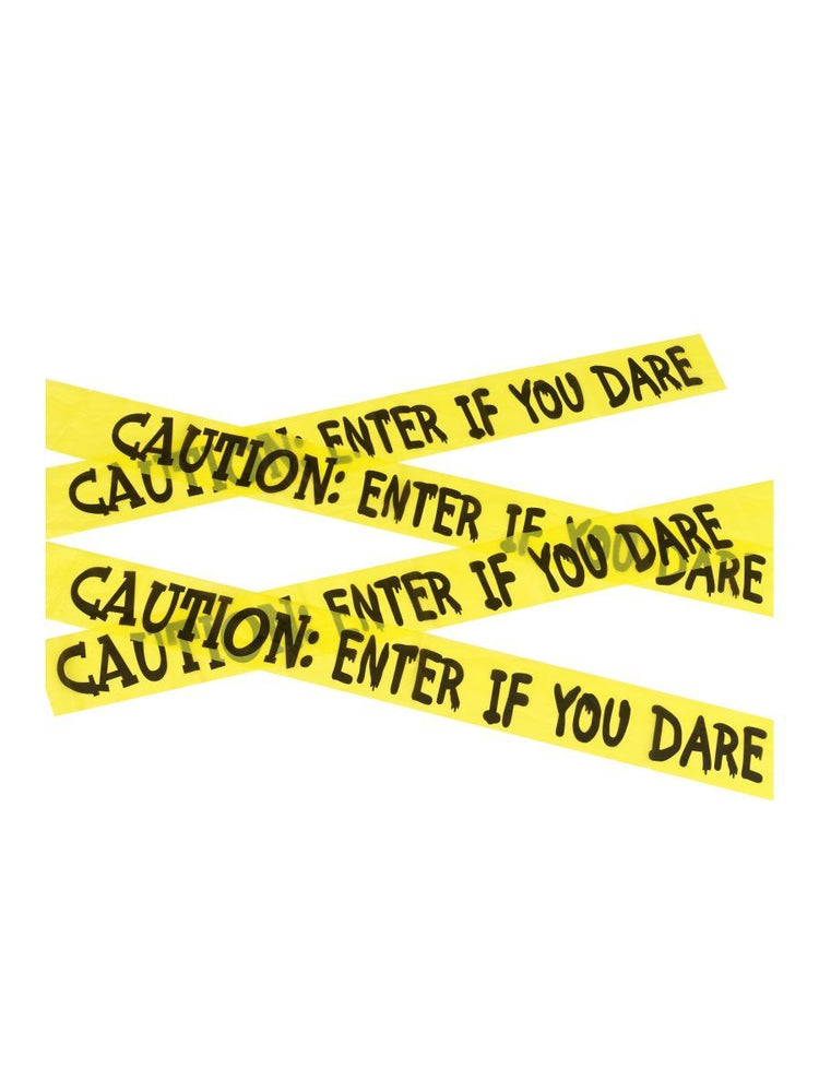 Smiffys Caution Enter If You Dare Tape - 47020