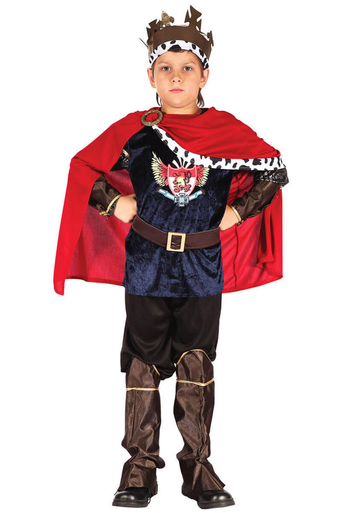 Kids Fantasy King Costume