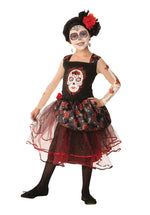 Rose Senorita Child Costume