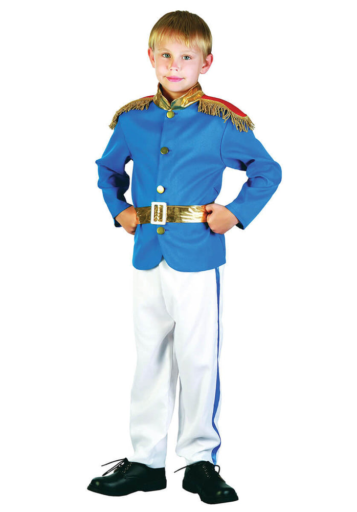 Royal Prince Charming Child Costume