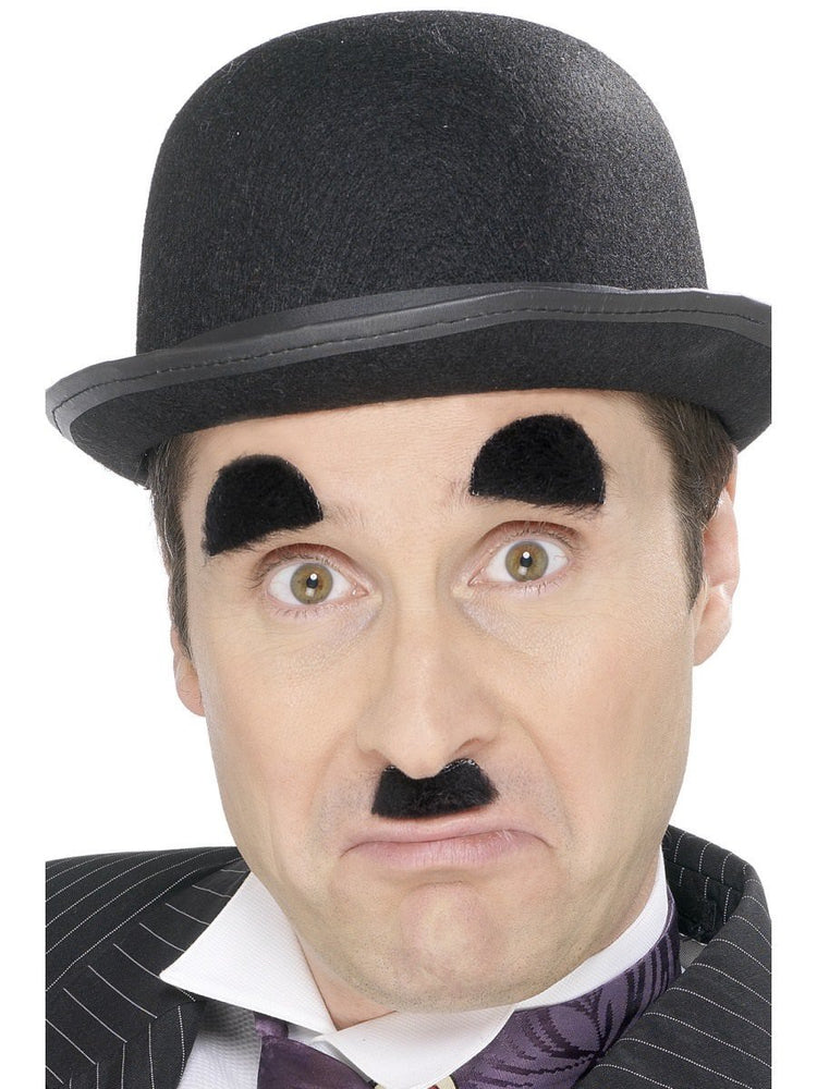 Chaplin Moustache + Eyebrows