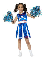Cheerleader Blue Costume, Child