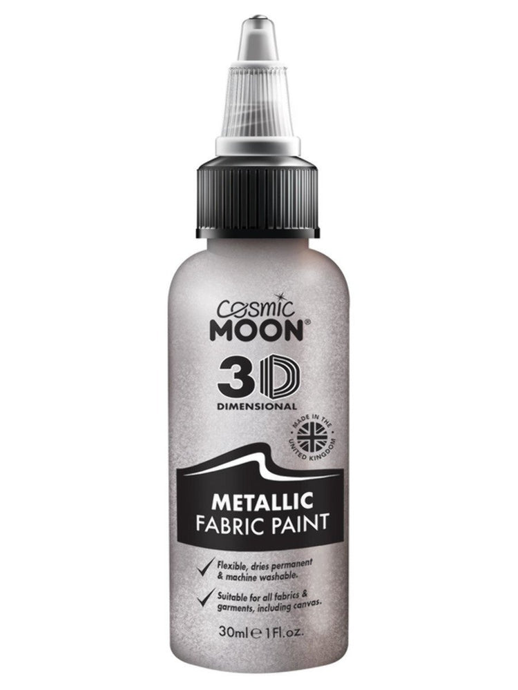 Smiffys Cosmic Moon Metallic Fabric Paint - S16505