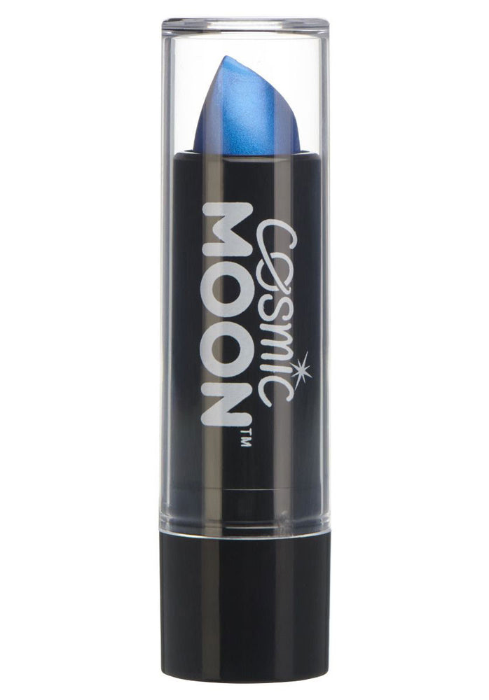 Cosmic Moon Metallic Lipstick - Blue