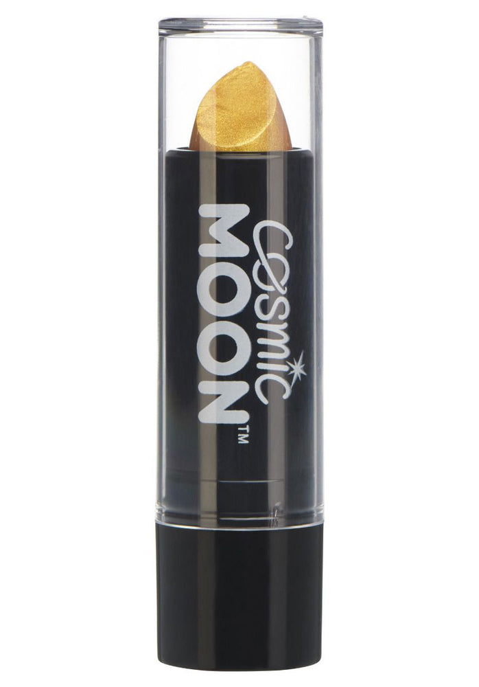 Cosmic Moon Metallic Lipstick - Gold