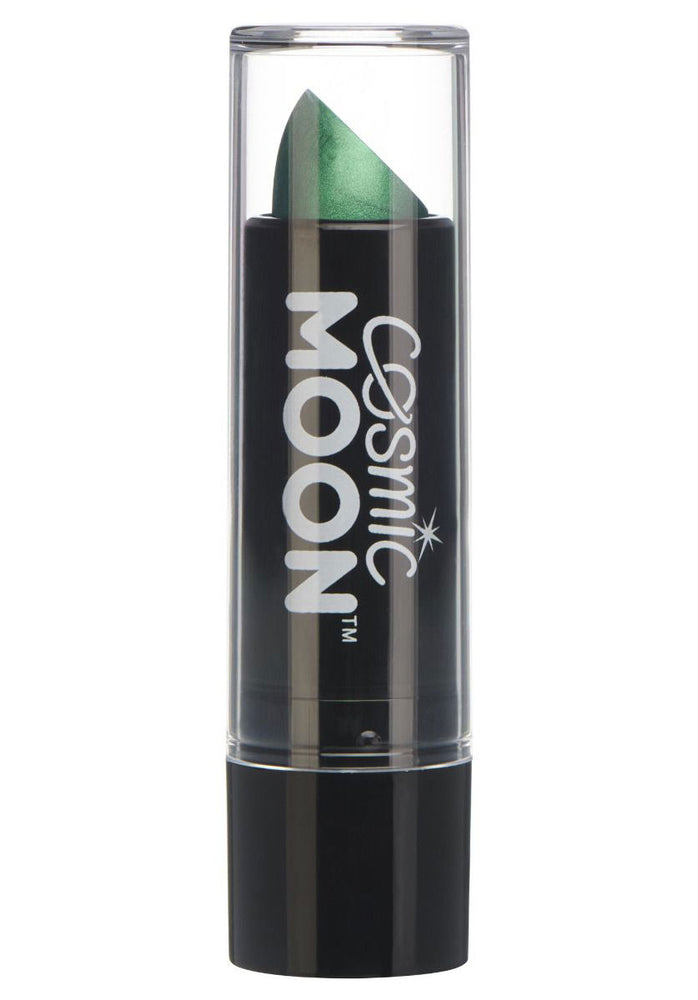 Cosmic Moon Metallic Lipstick - Green