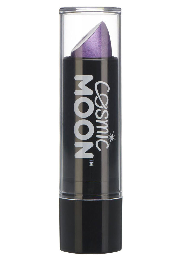 Cosmic Moon Metallic Lipstick - Purple