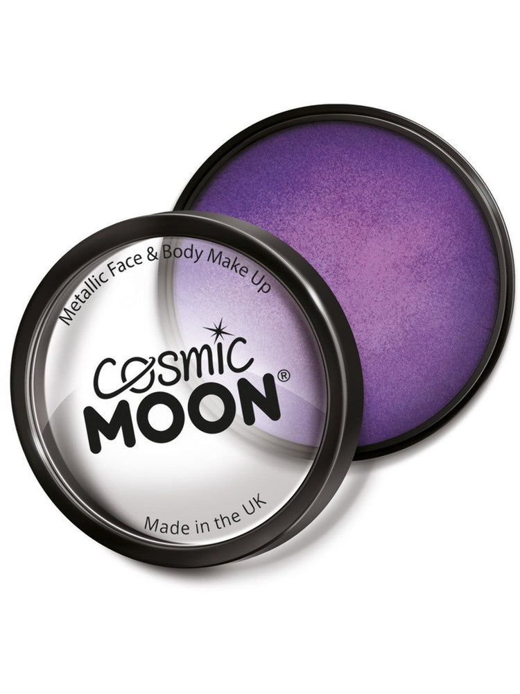 Cosmic Moon Metallic Pro Face Paint Cake PotsS15072
