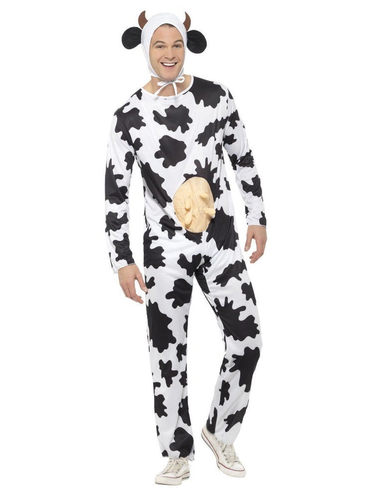 Smiffys Cow Costume with Jumpsuit - 29115