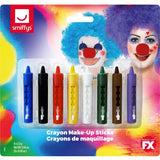 Crayon Make-Up Sticks-8 Pack