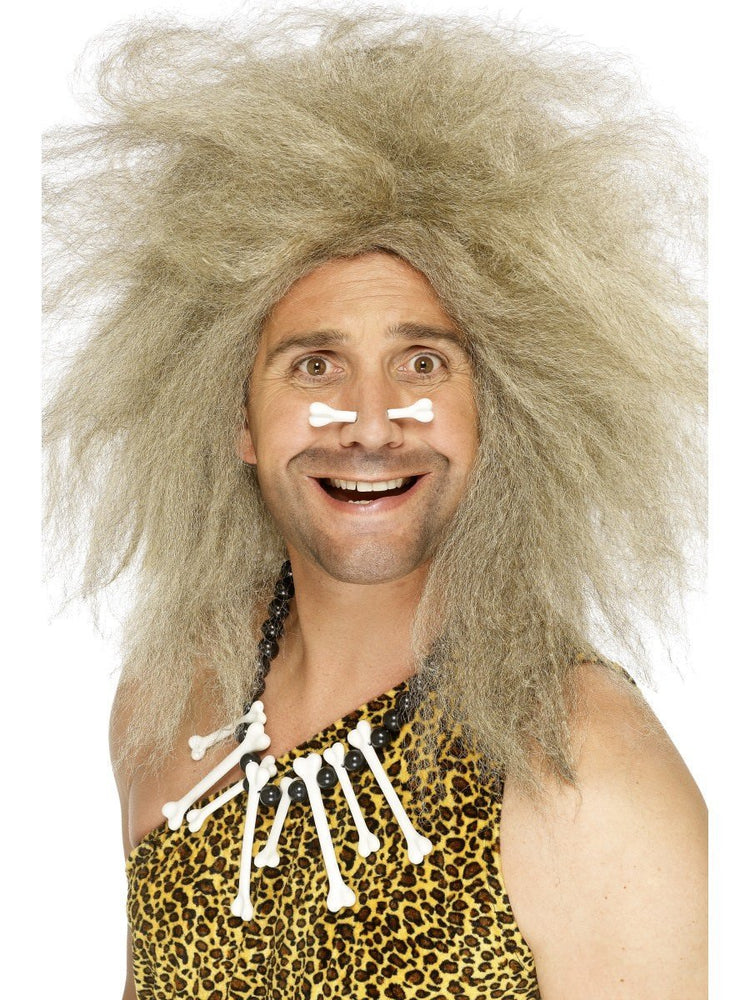 Crazy Caveman Wig, Blonde