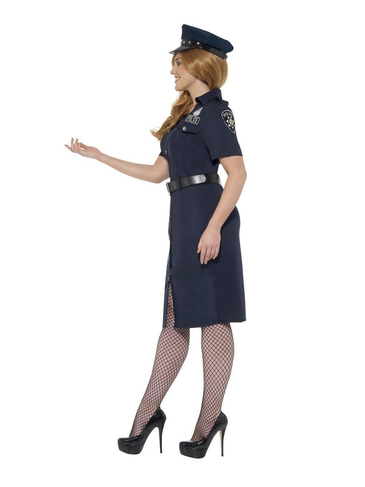 Curves NYC Cop Costume, Female24451