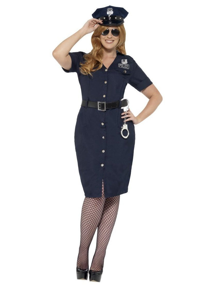 Smiffys Curves NYC Cop Costume, Female - 24451