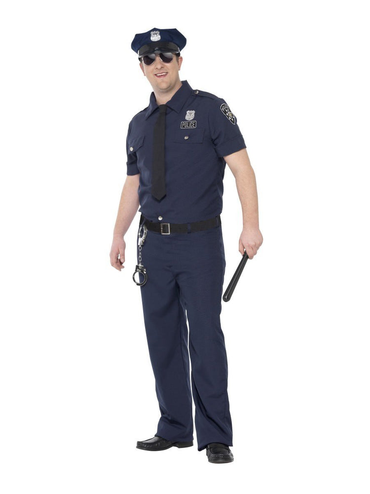 Curves NYC Cop Costume24341