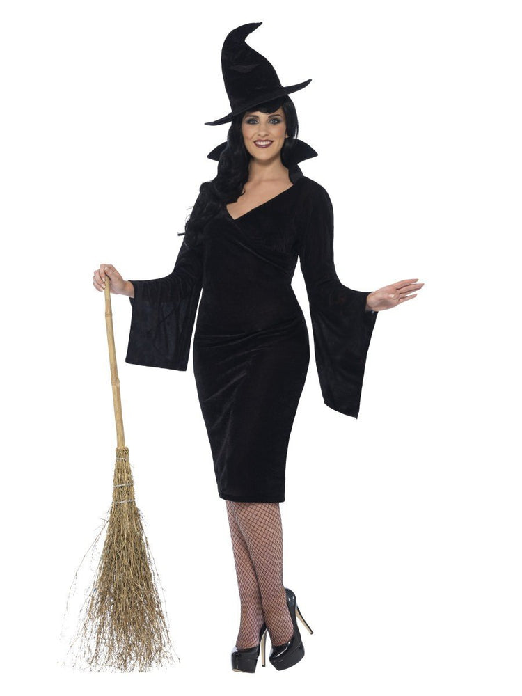 Smiffys Curves Witch Costume - 44351