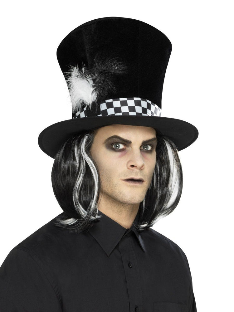 Smiffys Dark Tea Party Top Hat - 45022