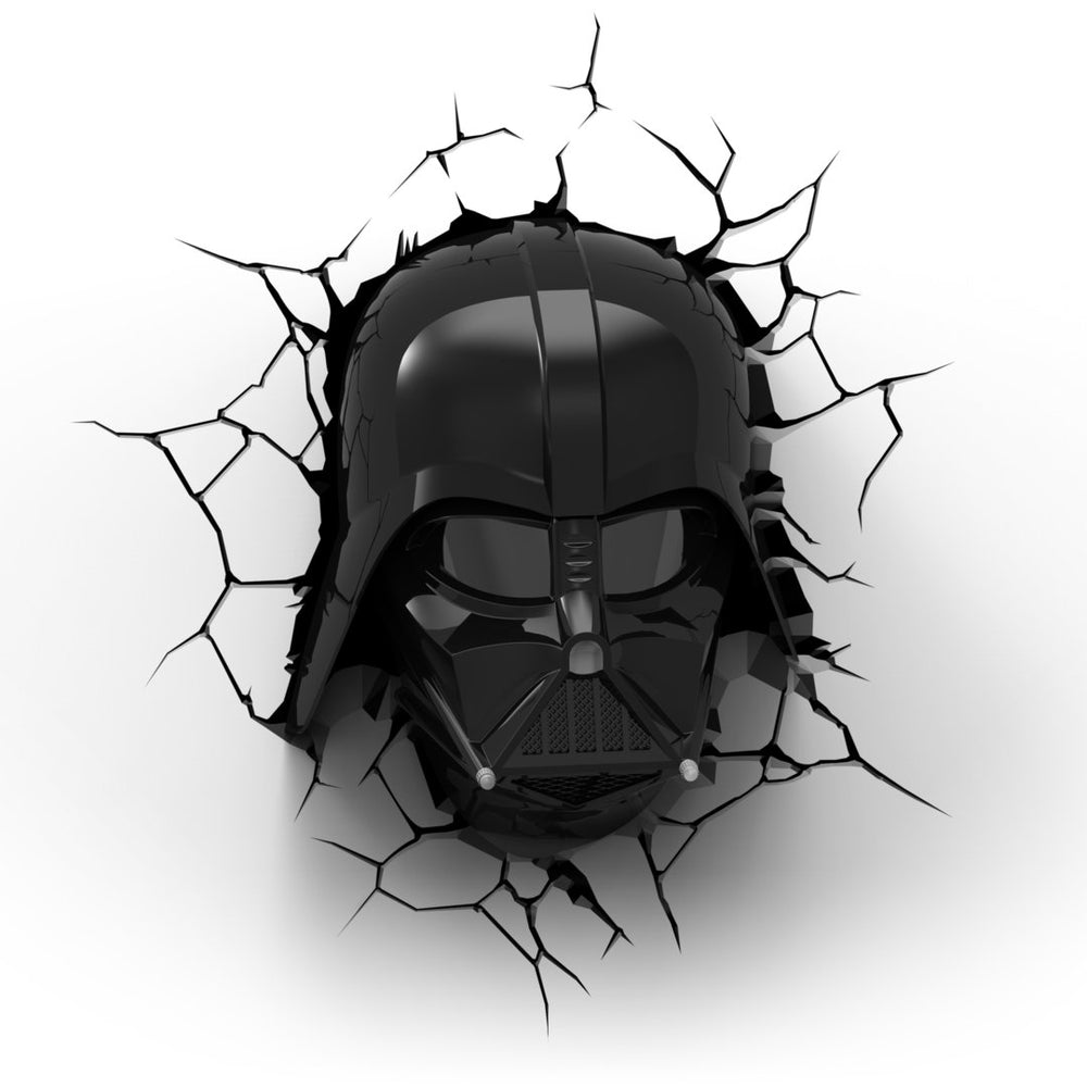 3D Light Star Wars Darth Vader Head