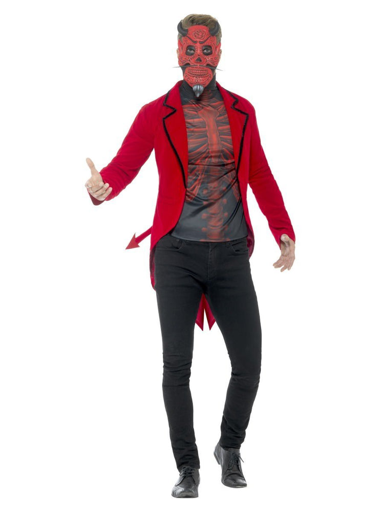 Smiffys Day of the Dead Devil Costume - 44938