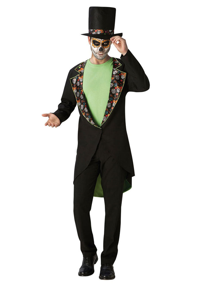 Day of the Dead Gentleman Costume