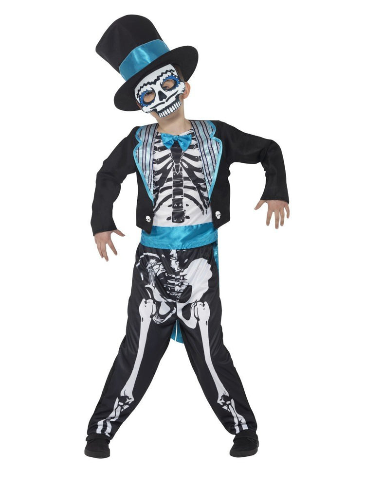 Smiffys Day of the Dead Groom Costume - 44929