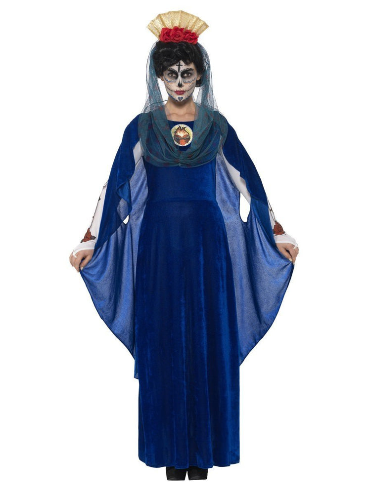 Smiffys Day of the Dead Sacred Mary Costume - 44934