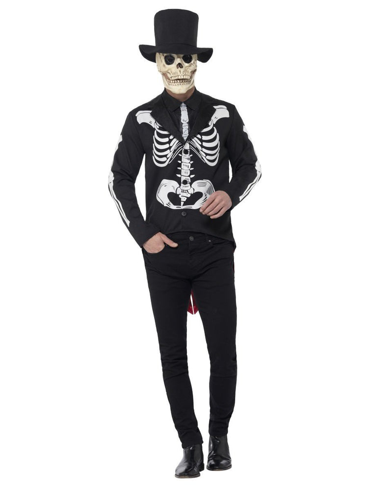 Smiffys Day of the Dead Senor Skeleton Costume - 44656