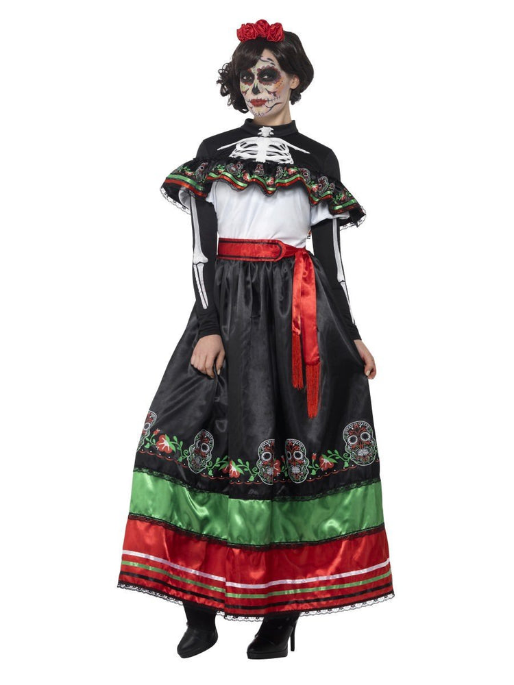 Smiffys Day of the Dead Senorita Costume - 44937