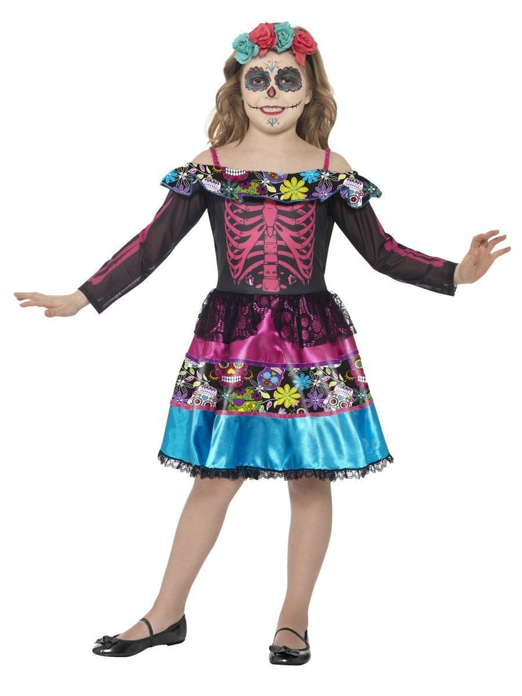 Smiffys Day of the Dead Sweetheart Costume - 44930