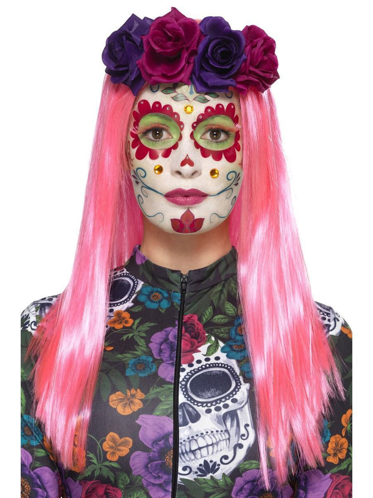 Smiffys Day of the Dead Sweetheart Make-Up Kit - 44964
