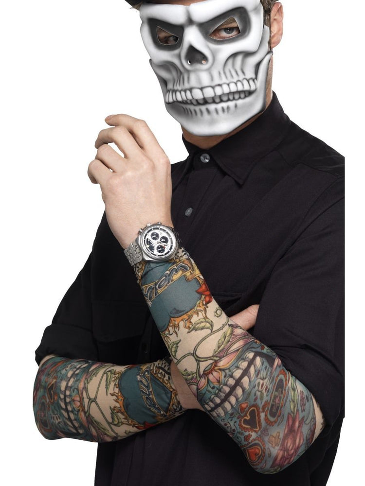 Smiffys Day of the Dead Tattoo Sleeve - 44225