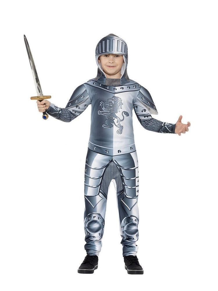 Armoured Knight Deluxe Costume, Child