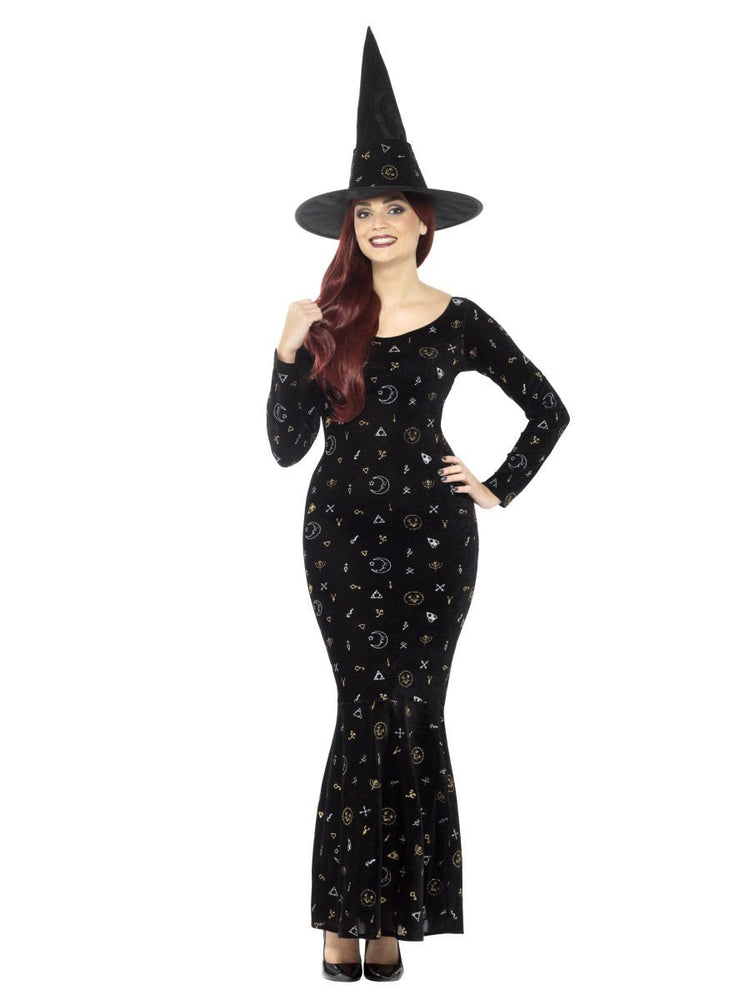 Smiffys Deluxe Black Magic Ouija Witch Costume - 45120