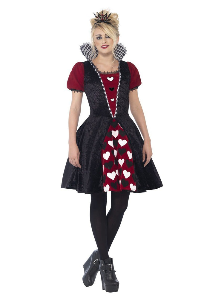 Smiffys Deluxe Dark Red Queen Costume - 44335