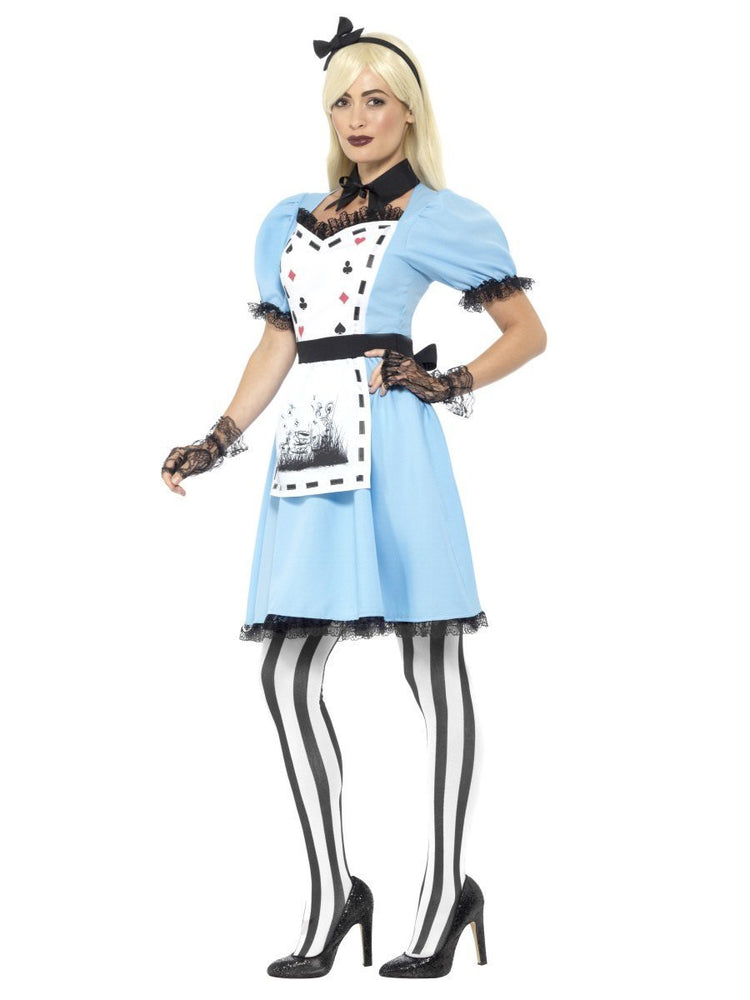 Deluxe Dark Tea Party Costume44712