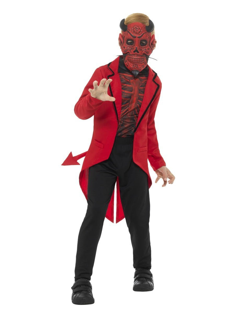 Deluxe Day of the Dead Devil Boy Costume
