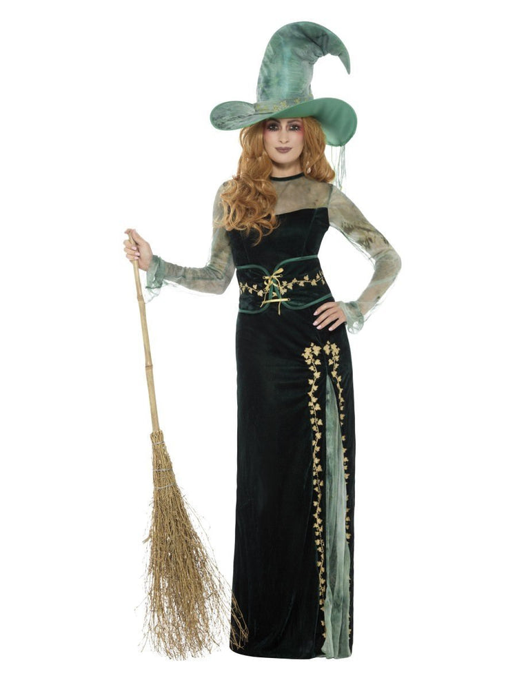 Smiffys Deluxe Emerald Witch Costume - 45111